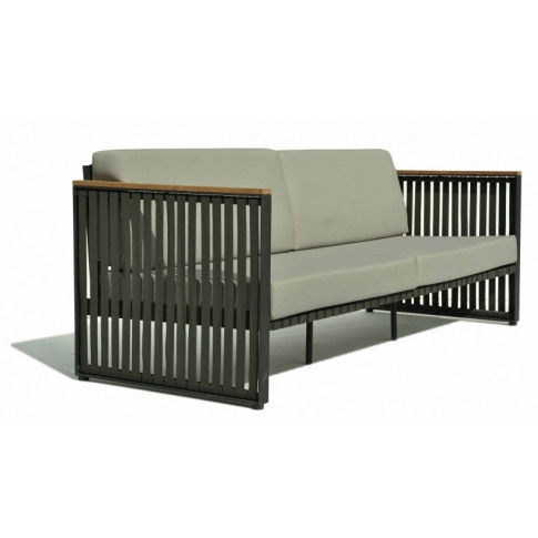 Skyline Horizon Dark Grey Strap Sofa