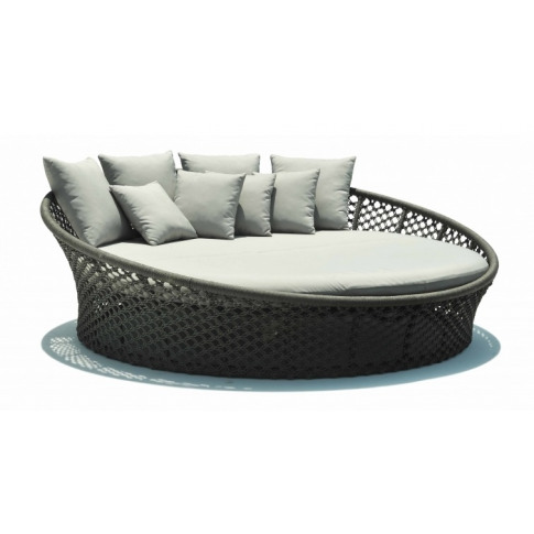 Skyline Kona Anthracite Poly Rope Daybed