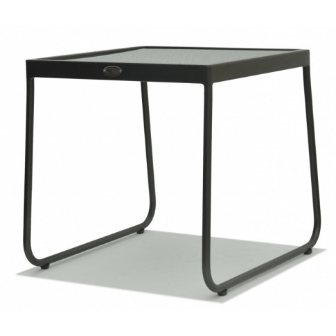 Skyline Kona Grey Metal Side Table