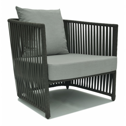 Skyline Milano Grey Strap Armchair