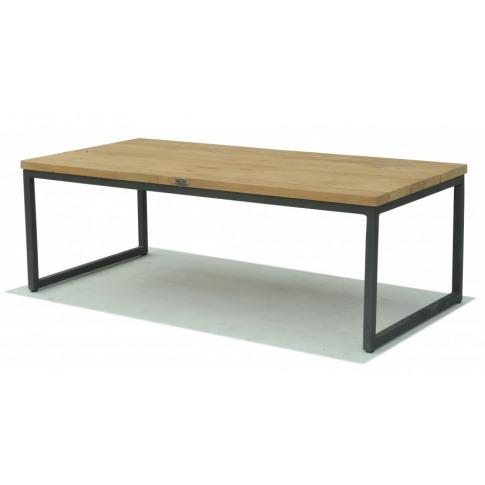 Skyline Nautic Teak Rectangular Coffee Table