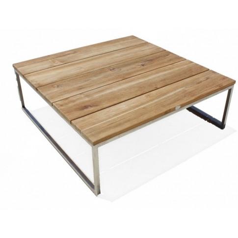 Skyline Nautic Teak Square Coffee Table