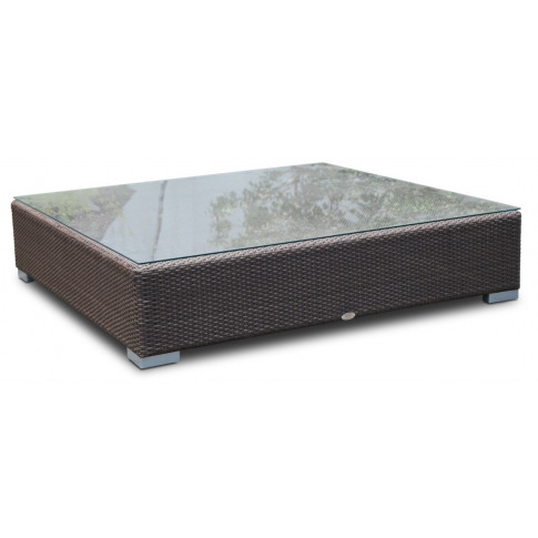 Skyline Pacific Silver Walnut Rattan Large Square Co...