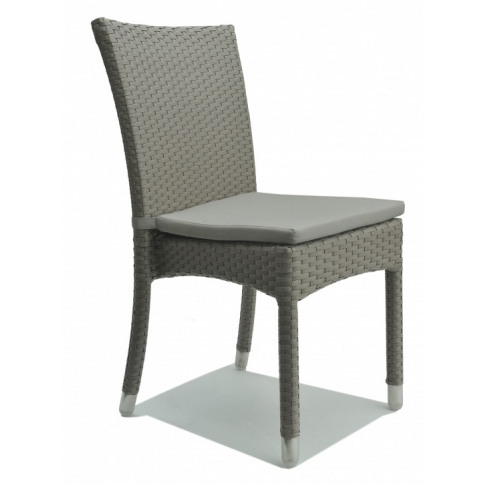 Skyline Palos Silver Walnut Rattan Dining Chair