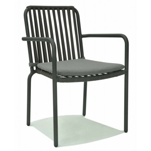 Skyline Trinity Dark Grey Strap Dining Chair
