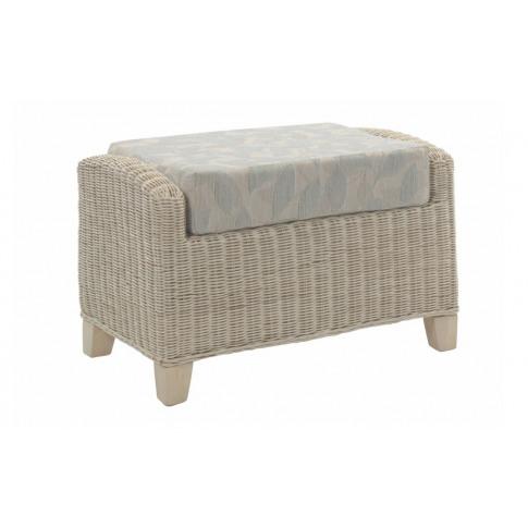 Desser Dijon Footstool And Cushion