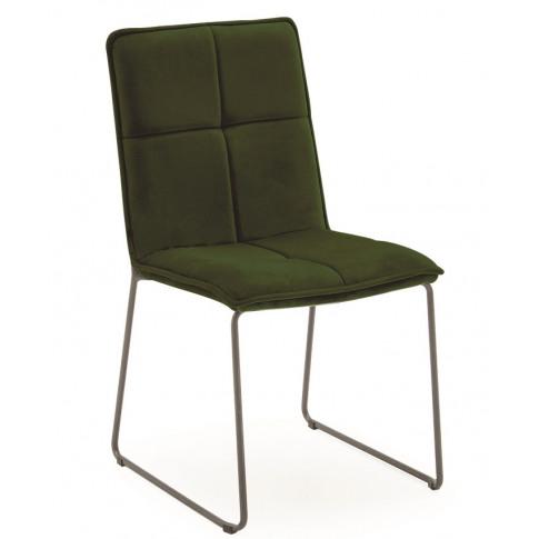Soren Green Velvet Fabric Dining Chair
