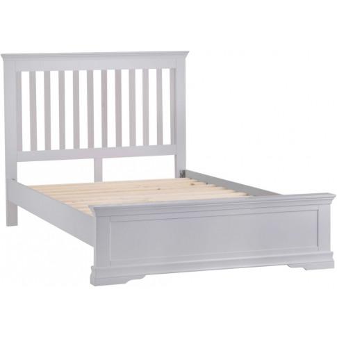 Steward Grey Wooden 5ft Kingsize Bed