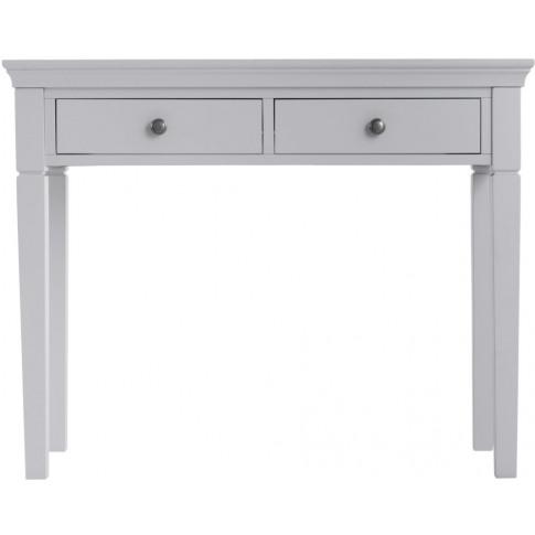 Steward Grey Wooden Dressing Table