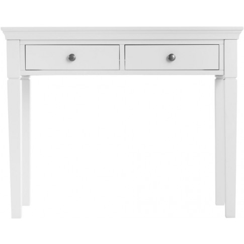 Steward White Wooden Dressing Table