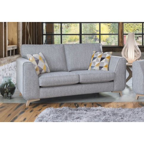 Alstons Stockholm 2 Seater Fabric Sofa