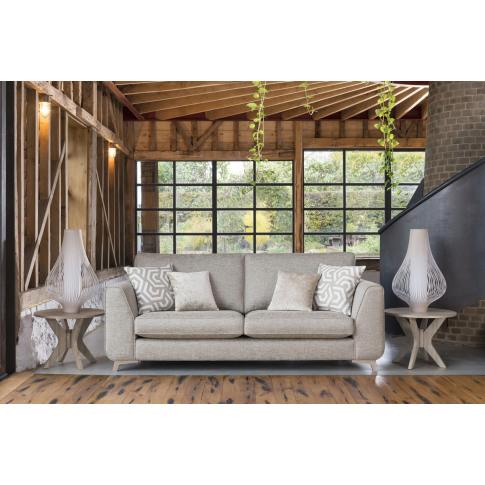 Alstons Stockholm Grand Fabric Sofa