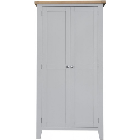 Titan Grey Oak Full Hanging Wardrobe