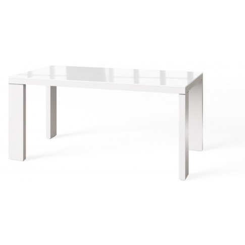 Fairmont Lucca 160cm White High Gloss Dining Table