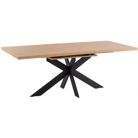 Toronto 160cm Ext. Oak Dining Table