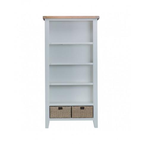 Titanic Grey Oak Large Bookcase