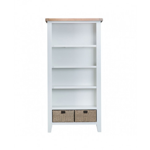 Titanic White Oak Large Bookcase