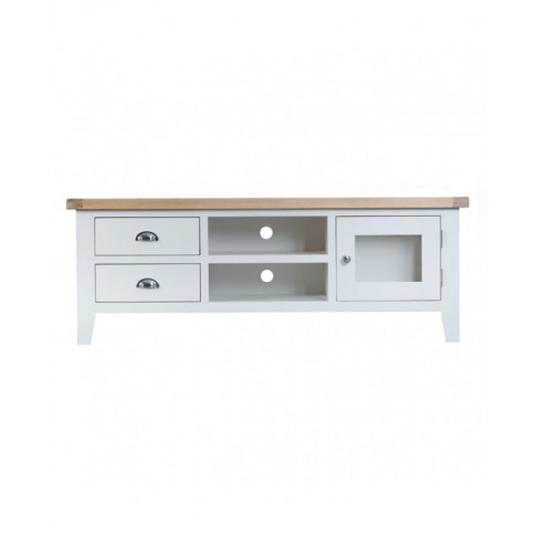 Titanic White Oak Large Tv Unit