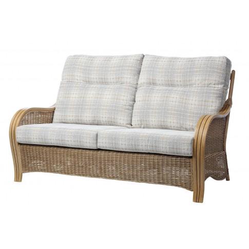Desser Turin Light Oak 3 Seater Sofa