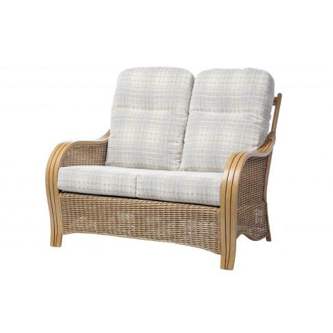 Desser Turin Light Oak 2 Seater Sofa