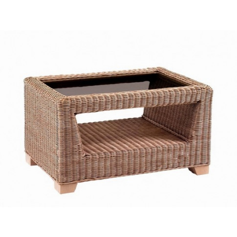 Cane Luca Rectangular Coffee Table