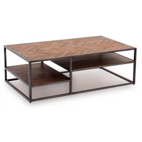 Vanya Light Brown Wooden Coffee Table