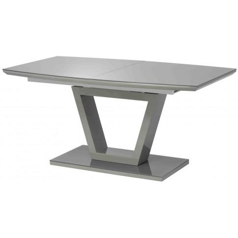 Venice 160-200cm Matt Charcoal Ext. Dining Table