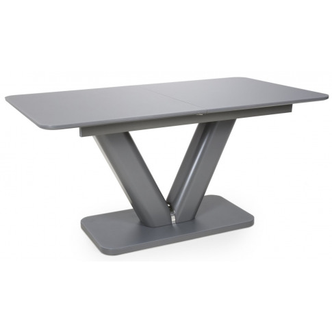 Venus Grey Tempered Glass Extra Large Ext. Dining Table