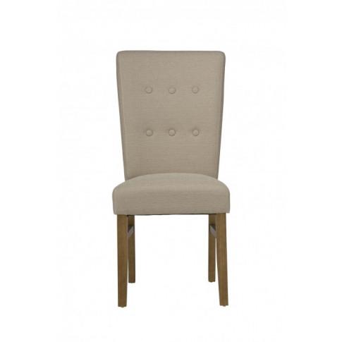 Vigo Natural Fabric Dining Chair