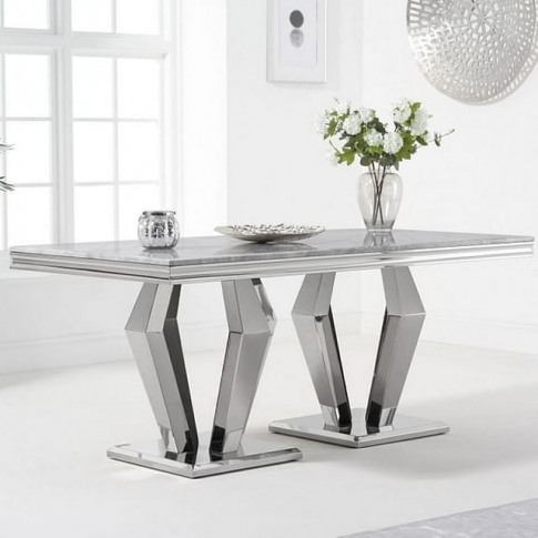Vinceza 180cm Marble Dining Table