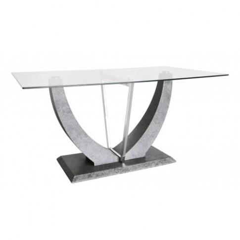 Venus Grey Marble 170cm Rectangular Dining Table