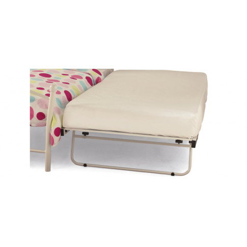 Serene 3ft Single White Metal Guest Bed