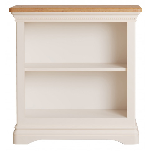 Winchester Silver Oak Low Bookcase
