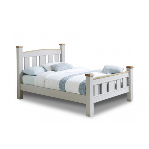 Birlea Woodstock 6ft Super Kingsize Grey Wooden Bed