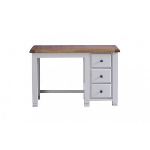 Birlea Woodstock Single Grey Wooden Dressing Table