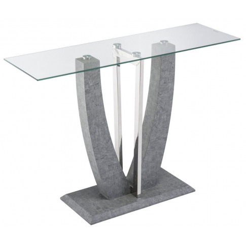 Langham Glass Console Table