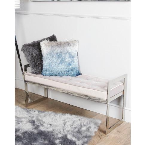 Zen Stainless Steel Bench
