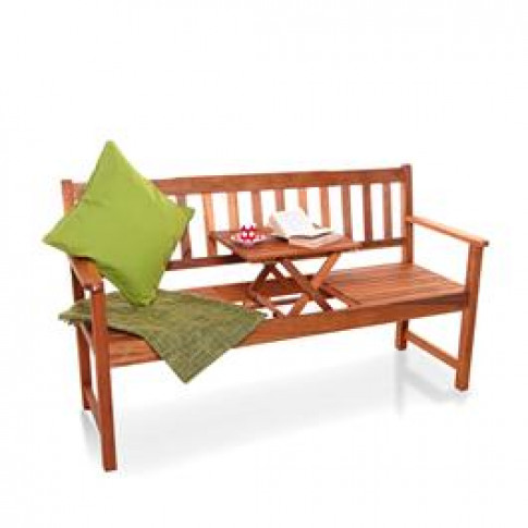 Billyoh Windsor Pop Up 3 Seater Garden Bench With Ta...