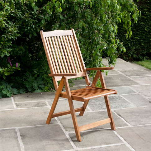Billyoh Windsor Reclining Garden Chair - 1/2/4/6/8/1...