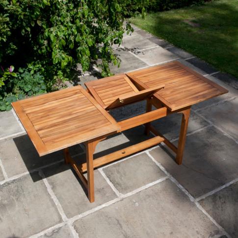 BillyOh Windsor Garden Table - 1.2-1.6m Rectangular ...