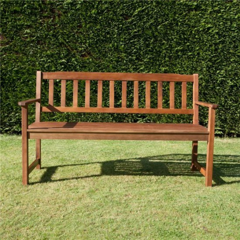Billyoh Windsor 2 Or 3 Seater Traditional Wooden Ben...