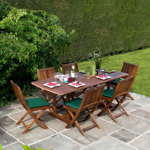 Billyoh Windsor 2m 6/8 Seat Rectangular Extending Se...
