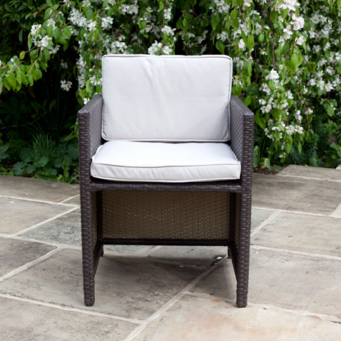 Billyoh Rosario Cube Dining Chairs - 2 Rattan Dining...