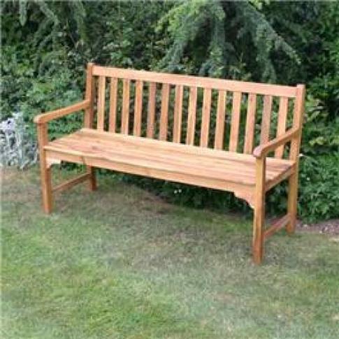 BillyOh Signature 3 Seater Wooden Garden Bench - Bil...