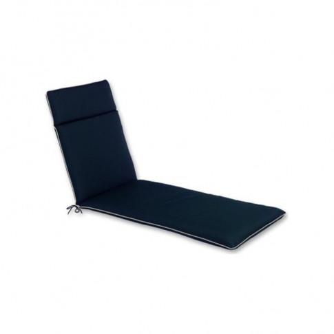 The CC Collection - Garden Lounger Cushion - Black -...