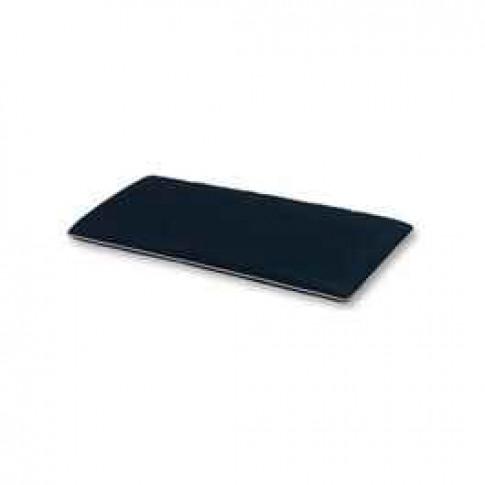 The CC Collection - 2 Seat Garden Bench Cushion - Black