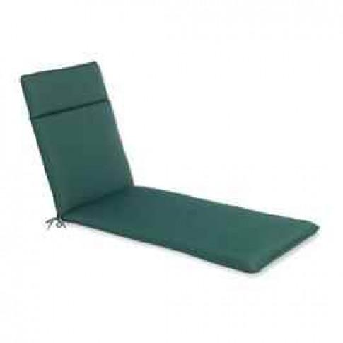 The CC Collection - Garden Lounger Cushion - Green x 2