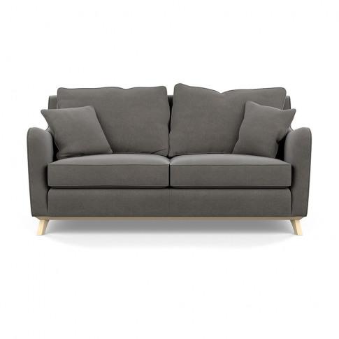 Heal's Ravello 3 Seater Sofa Linen Mix Gravel Natural