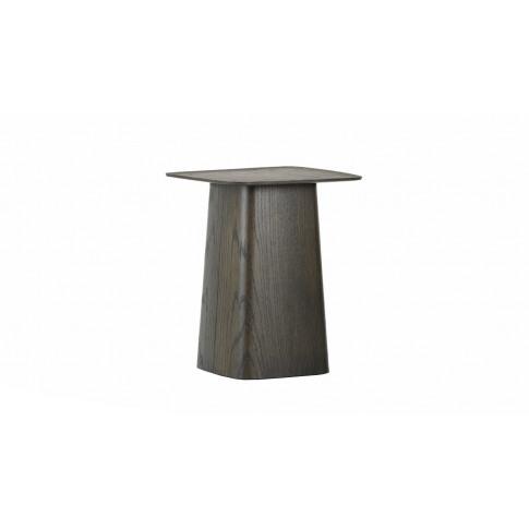 Vitra Wooden Side Table Small Dark Oak