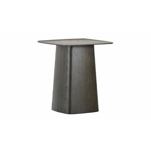 Vitra Wooden Side Table Medium Dark Oak